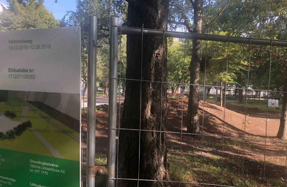 LUGEJA FOTO | Uue Maailma spordipark pole ka kolm nädalat pärast tähtaega ikka veel valmis