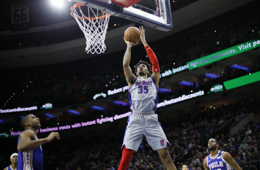 Ühegi sümptomita NBA mängumehel tuvastati koroonaviirus