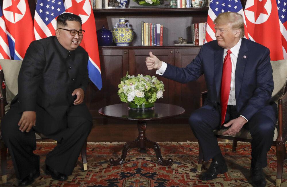 Trump tegi Kim Jong un-ile ettepaneku veel sel nädalal kohtuda