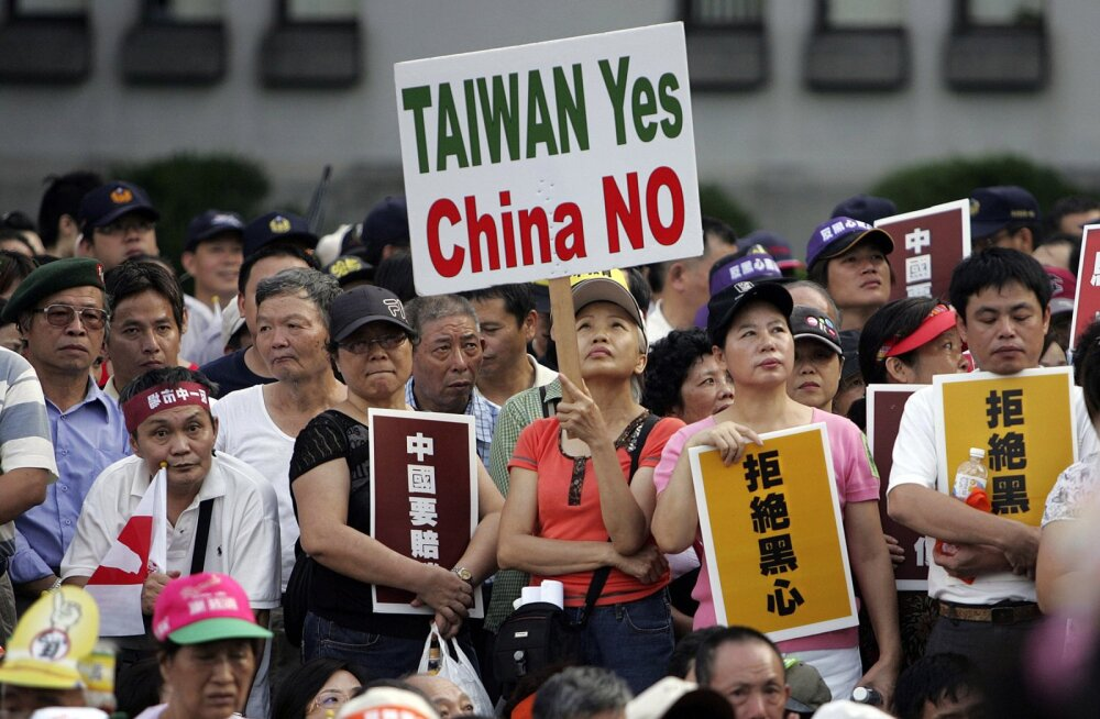 Hiina kruvib pingeid Taiwani väinas: vastavatud lennuliinid muudavad Taiwani õhuruumi ohtlikuks