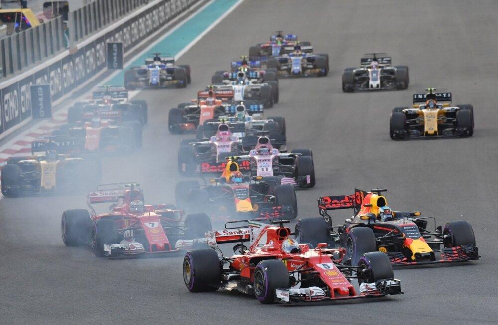 Vormel-1 Abu Dhabi etapp.
