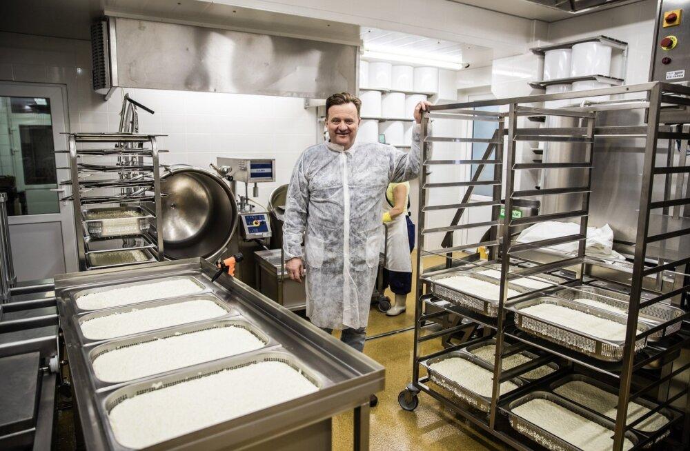 Meelis Mõttusel sai valmis uus meierei ja tulema hakkavad ka uued juustud.