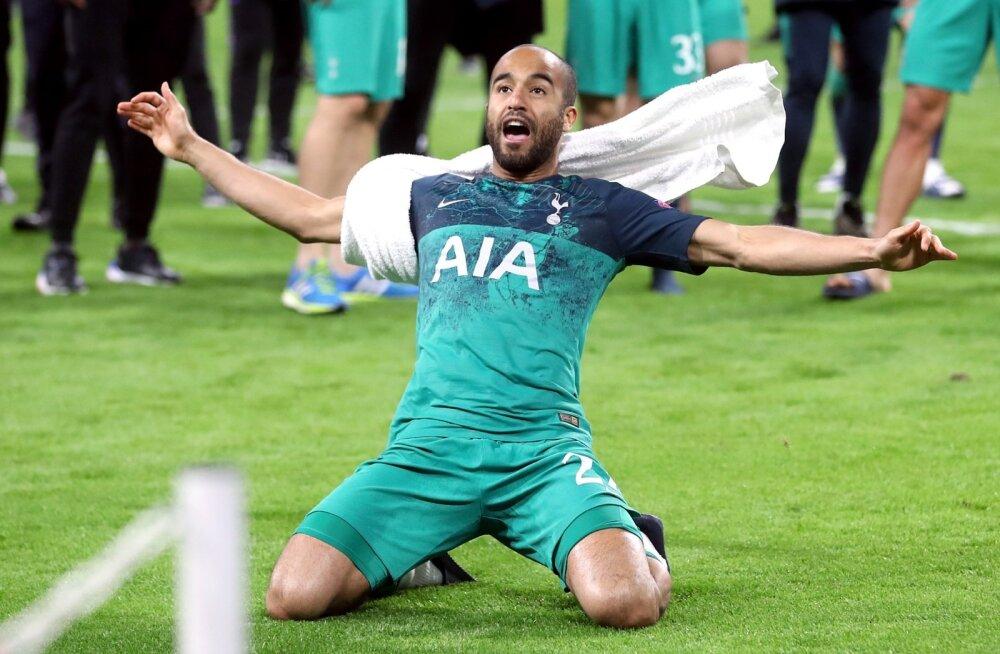 Tottenhami tahtejõu kehastuseks saanud Lucas Moura lõi kõik meeskonna kolm väravat.