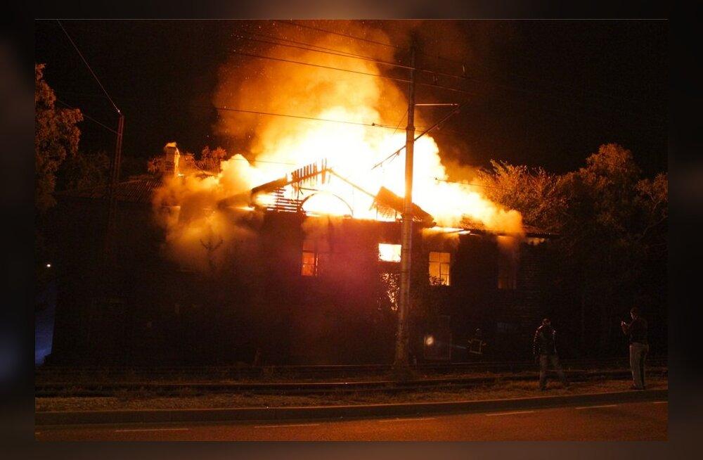 Harjumaal Kernu vallas hukkus tulekahjus keskealine naine