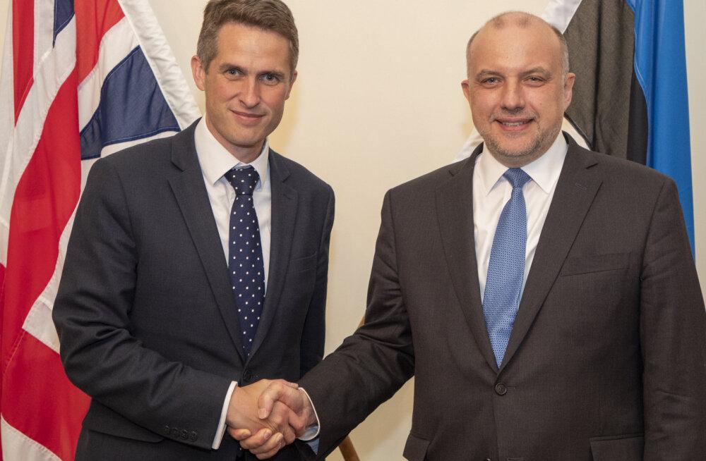 Eesti ja Suurbritannia kaitseministrid kohtusid Londonis