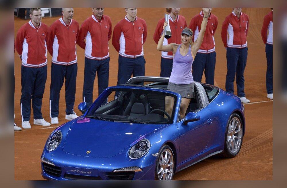 Maria Šarapova Porsche 911-ga