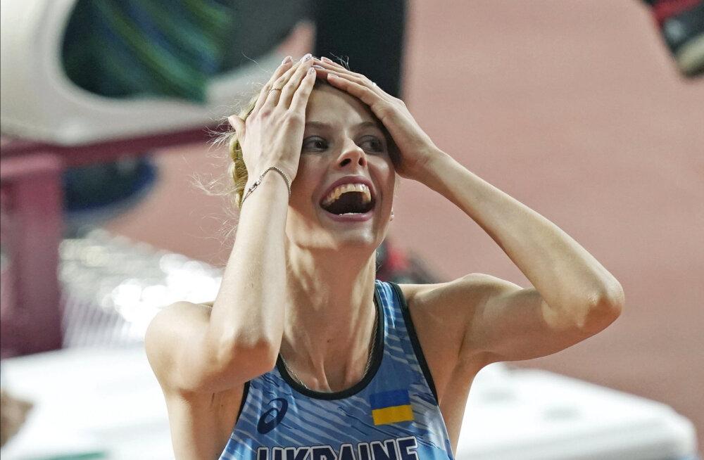 Jaroslava Mahutšik ei suuda uskuda, et ületas 2.04