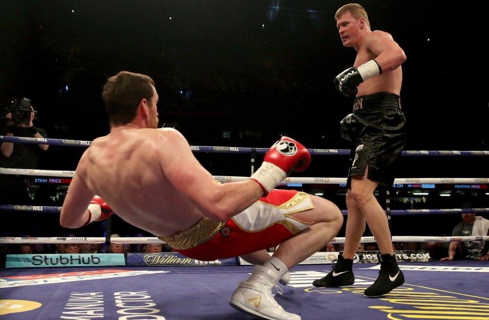 Aleksandr Povetkin nokauteeris enda viimases matšis David Price'i.