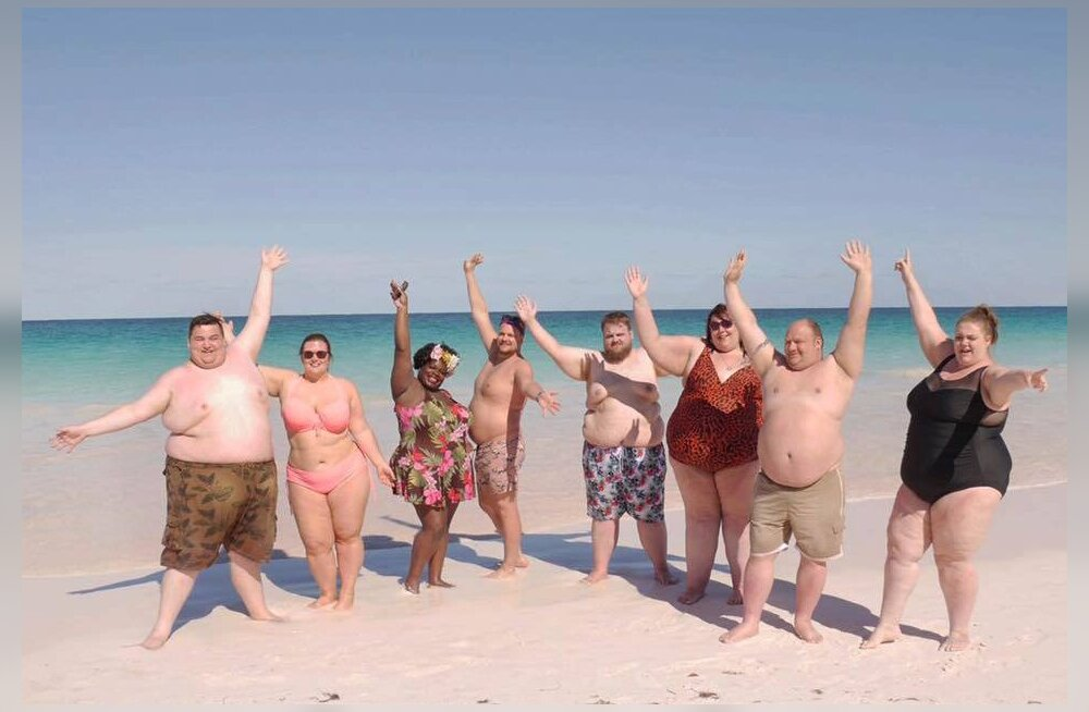 Ülekaalulistel mure murtud! Bahama saartel avati kuurort, kuhu on oodatud ainult paksukesed