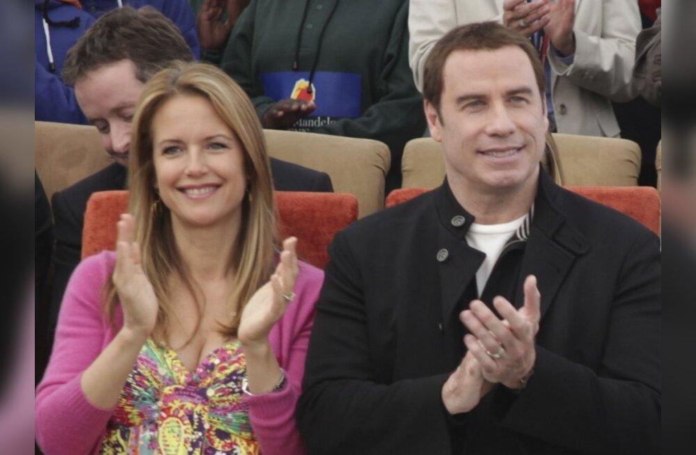 John Travolta abikaasa soovitab: sünnitage vaikides!