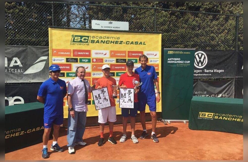 Ojakäär ja Mölder võitsid Barcelonas noorteturniiril esikoha