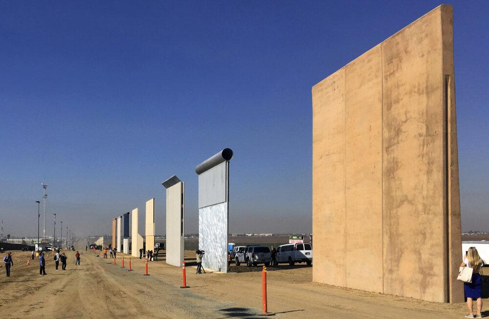 GRAAFIK   Tüli Mehhiko müüri pärast viis USA valitsuse seisakuni. Kuhu tahab Trump müüri ehitada ja palju see maksab?