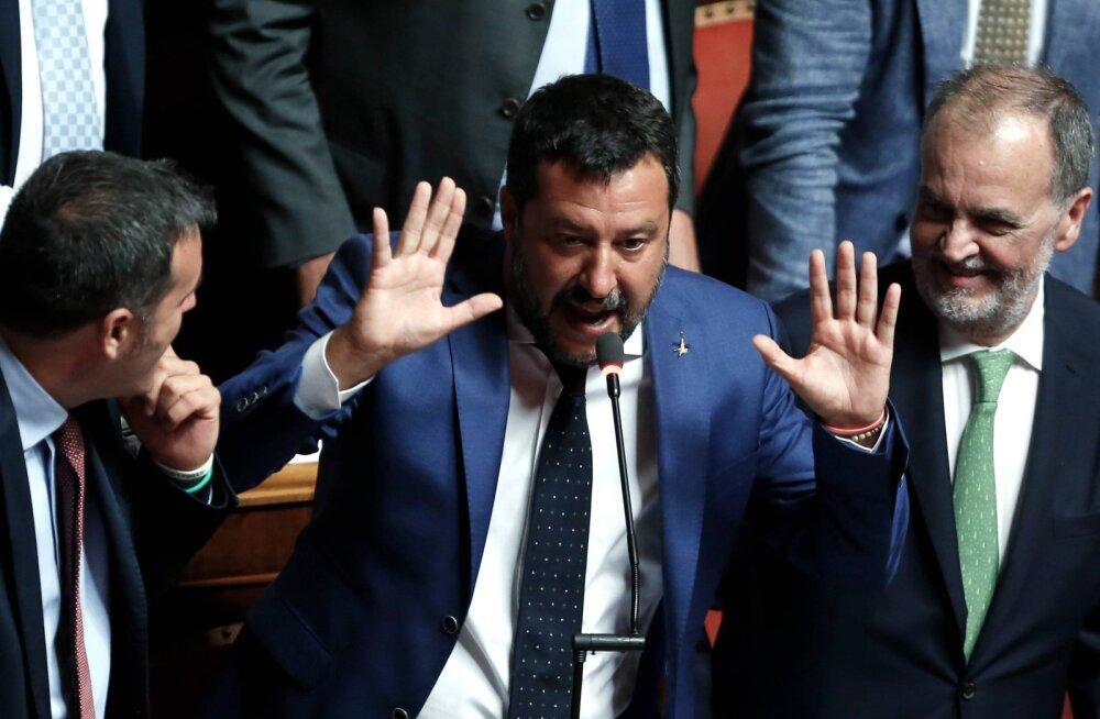 Itaalia senat vajutas Salvini uute valimiste plaanile pidurit