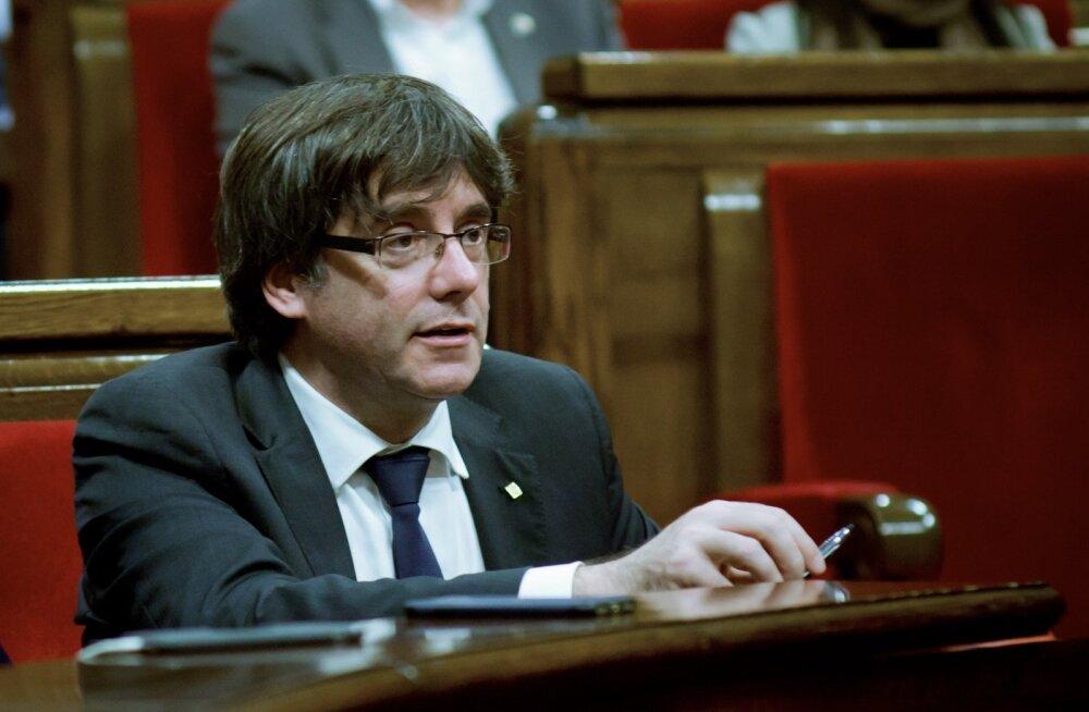 Hispaania välisminister: Kataloonia tagandatud president võib uutel valimistel kandideerida, kui vangis ei ole
