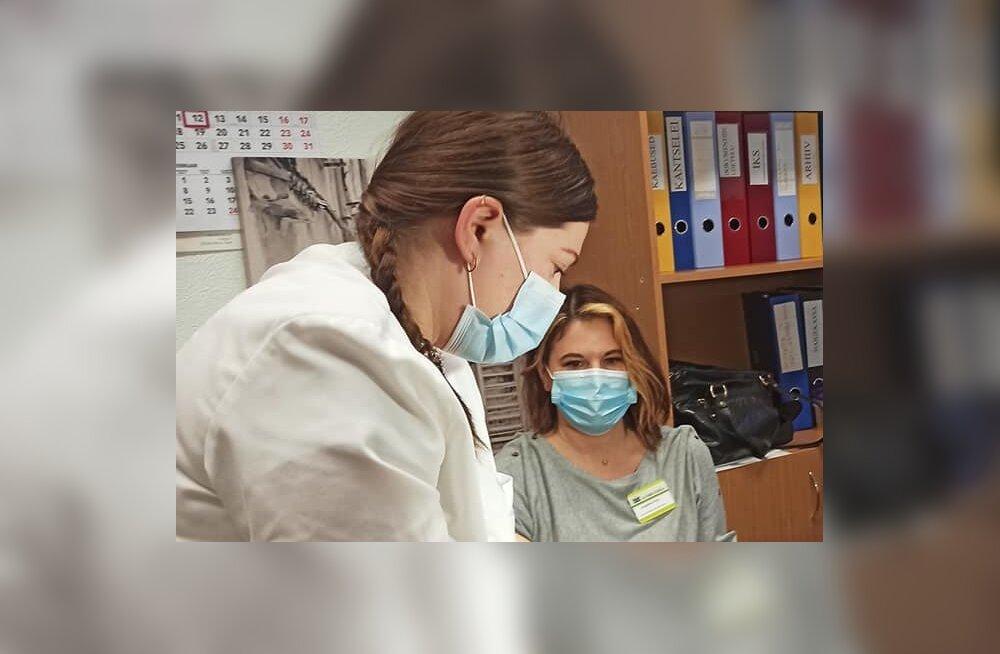 Сотрудница Нарвской больницы после вакцинации: все было добровольно, чувствую себя отлично