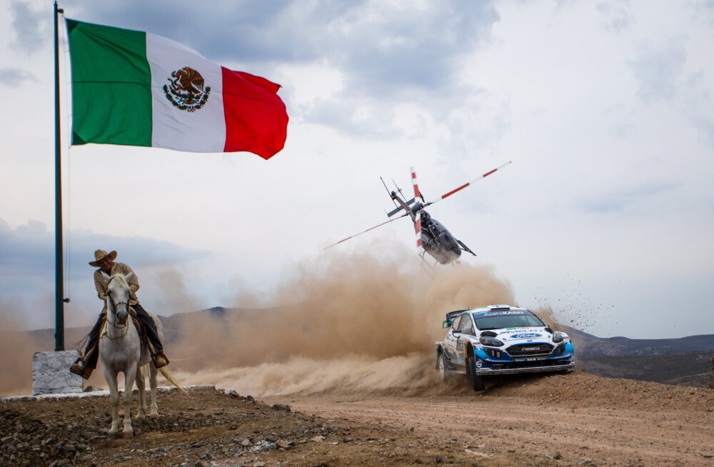 Mehhikos poodiumile pääsenud Suninen: bossid panid mulle pinged peale