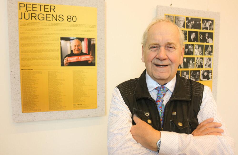 FOTOD | Eesti vanim meesnäitleja Peeter Jürgens tähistas 80. sünnipäeva