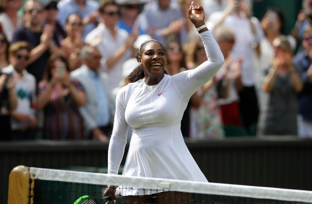 Serena Williams sammus taaskord finaali.