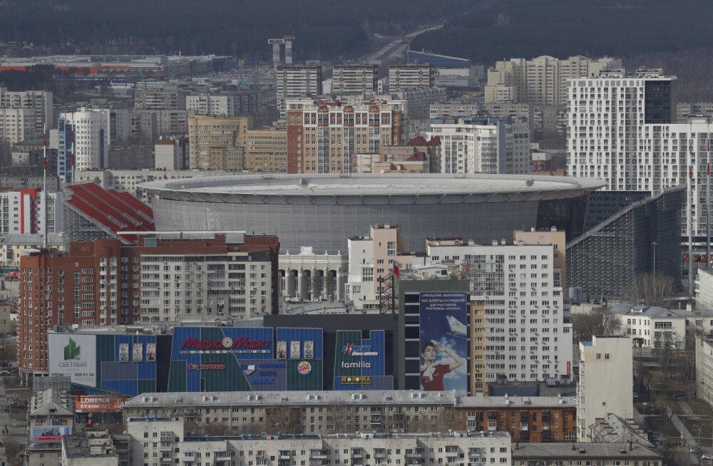 Sadadel Jekaterinburgi elanikel keeratakse jalgpalli MM-i ajaks gaas kinni