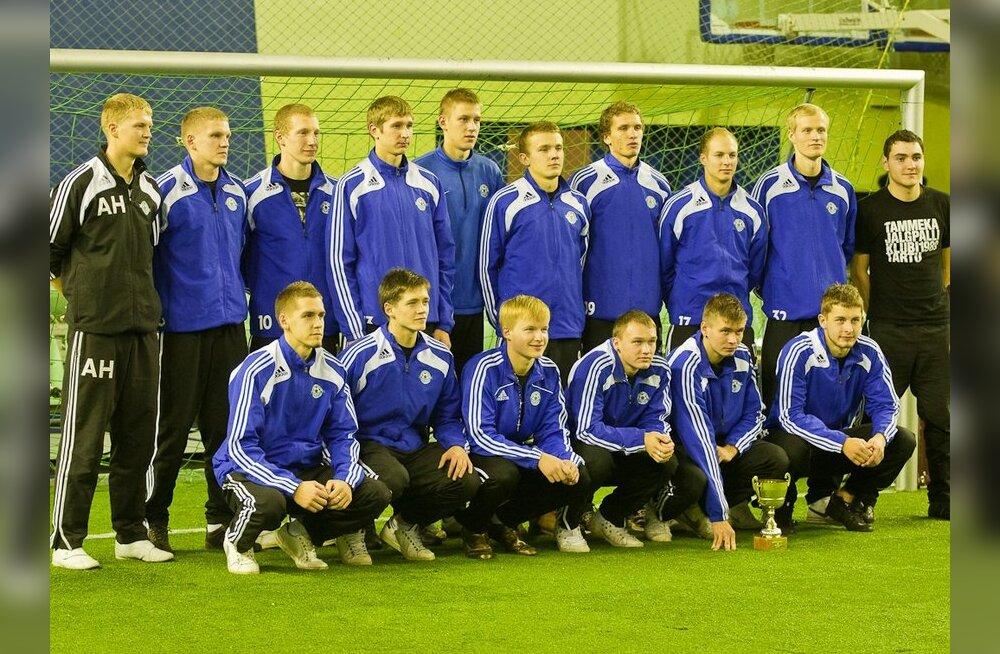 Jalgpalli Aastalõputurniiri võitja Tartu JK Tammeka
