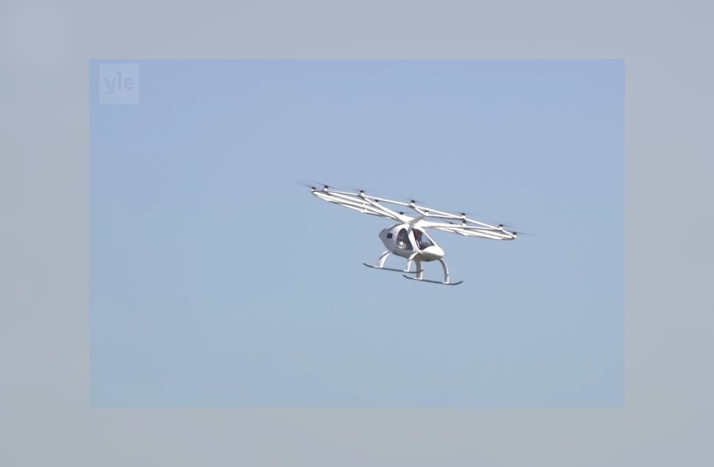 В Финляндии прошли испытания первого аэротакси. Оно будет возить туристов в Хельсинки-Вантаа