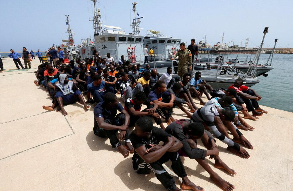 Aafrika Liit püüab peatada Euroopa Liidu plaani toimetada põgenikud merelt Aafrikasse tagasi