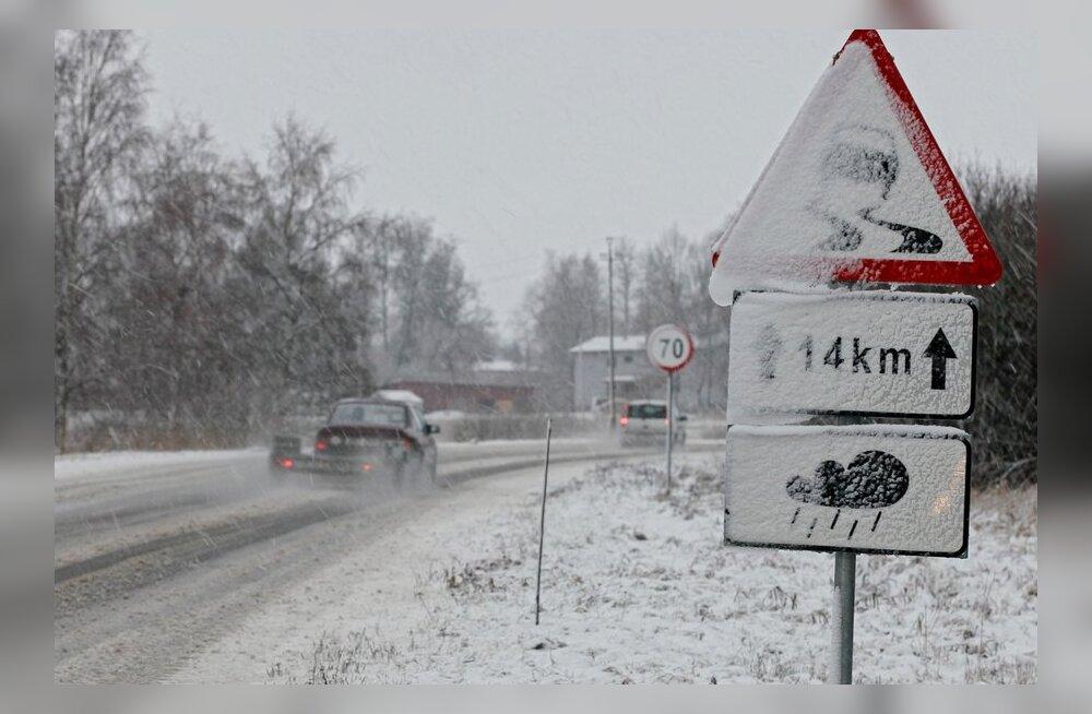 Soome sünoptikud: nädala keskel saabub talv