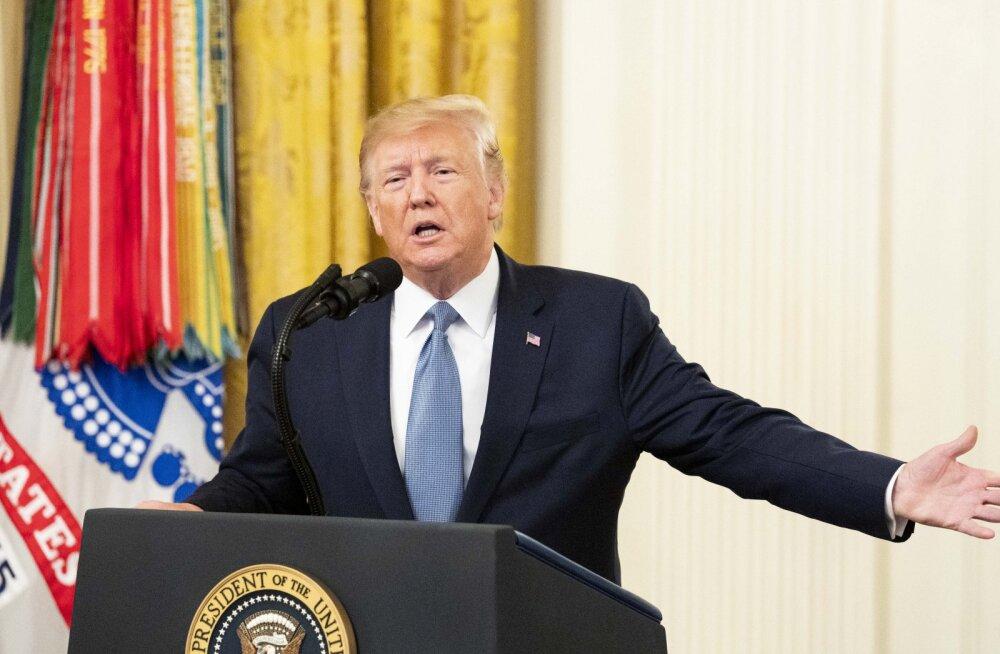 USA kongressi esindajatekoda hääletas Trumpi tagandamisprotseduuride ametlikustamise poolt