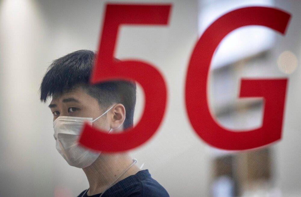 Suurbritannia loobub 5G võrgus Huawei seadmetest.