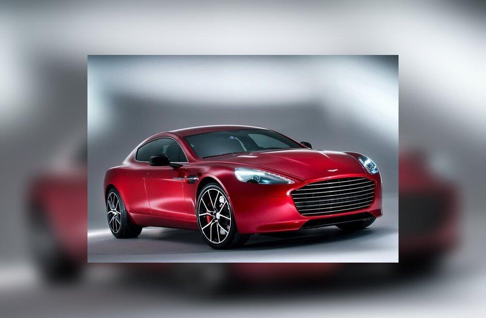 Aston Martin Rapide S - võimsaim neljaukseline Aston läbi aegade