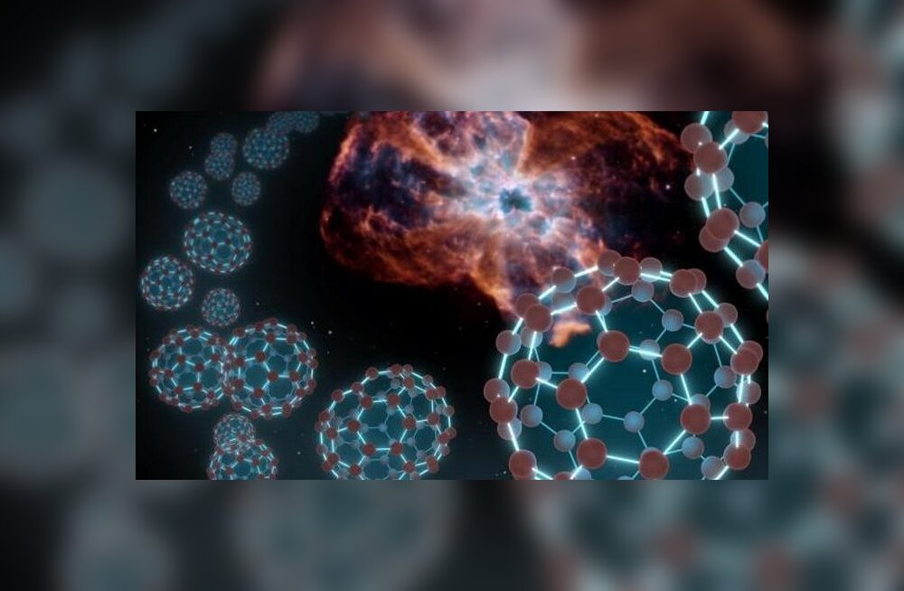 Kosmosest leiti suured jalgpallikujulised molekulid