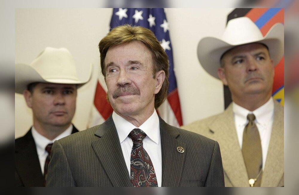 FOTO: Kui Chuck Norris helistab, siis kõnest keeldumise varianti pole