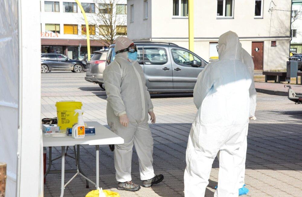 Koroonaproovi saab anda ka Viljandis.