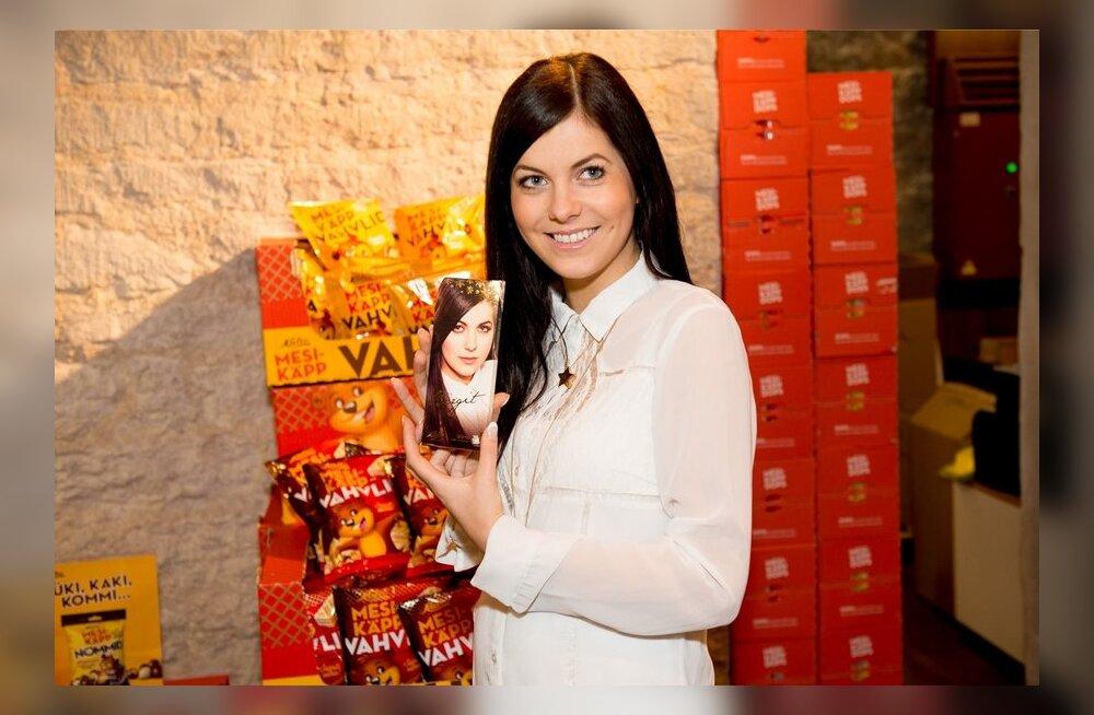 Birgit Õigemeel esitles oma Eurovisiooni shokolaadi