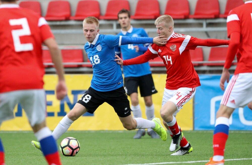 Eesti ja Venemaa U19