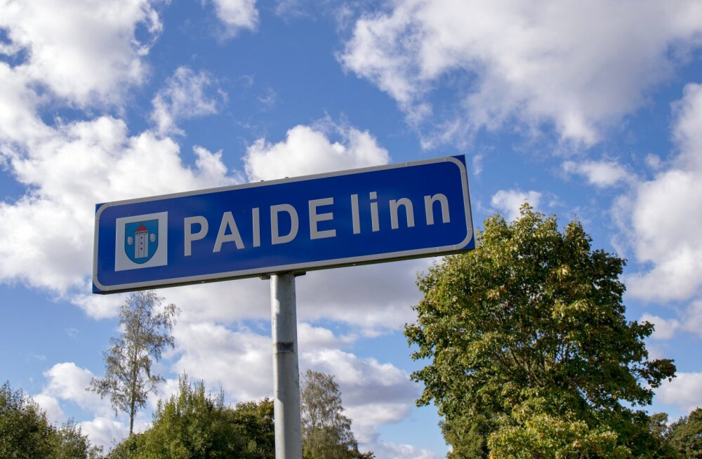 Paide, Paide linn, maantee, Paide linna silt