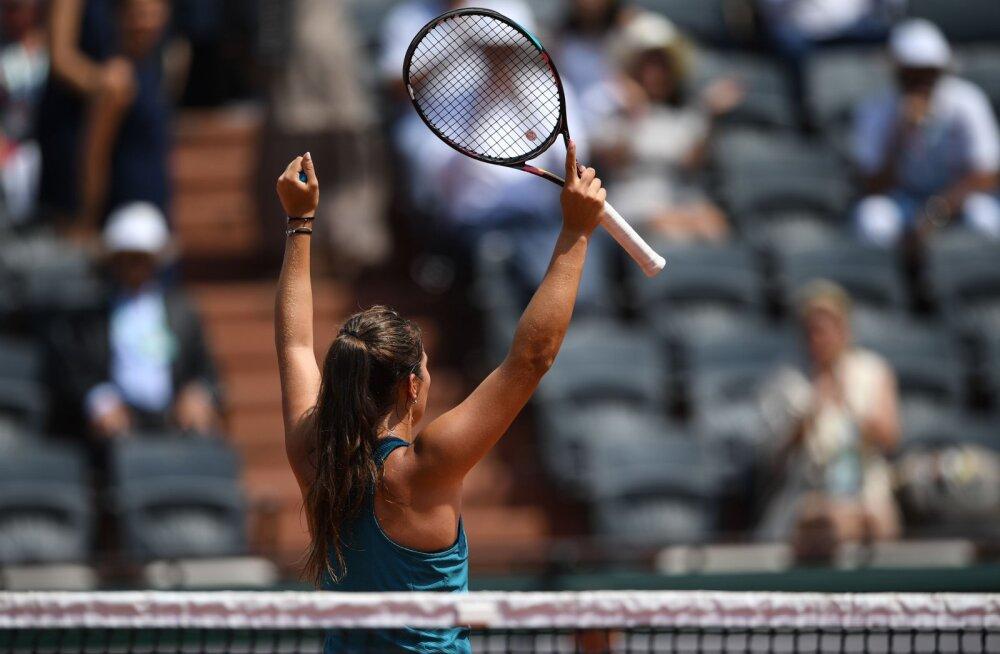 French Open: Kanepit võitnud Kasatkina seljatas maailma teise numbri Wozniacki
