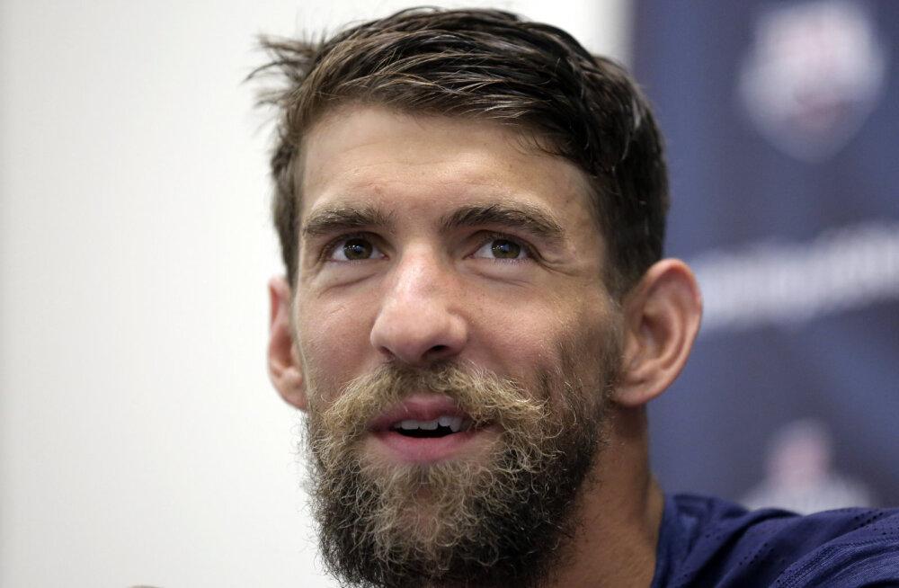 Michael Phelps lubas Rio olümpiani kaine olla