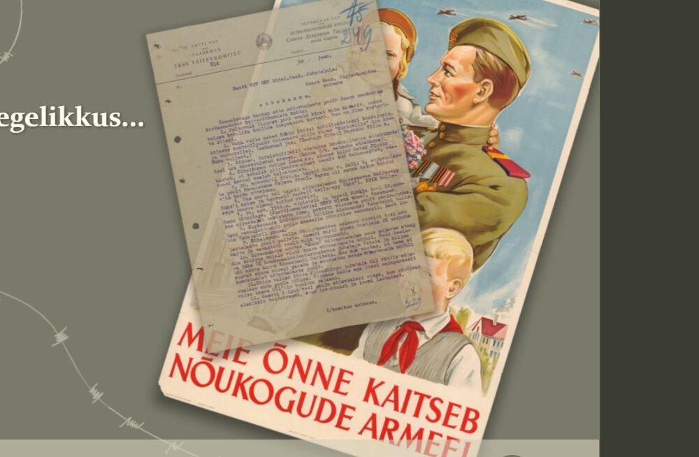 Punaarmee terror Eestis pärast Teist maailmasõda - valmis värske e-näitus