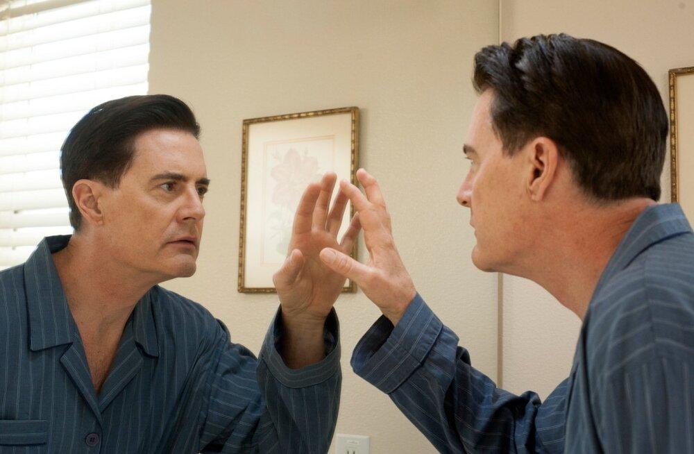 """Kyle MacLachlan mängib sarjas """"Twin Peaks"""" Dale Cooperit."""