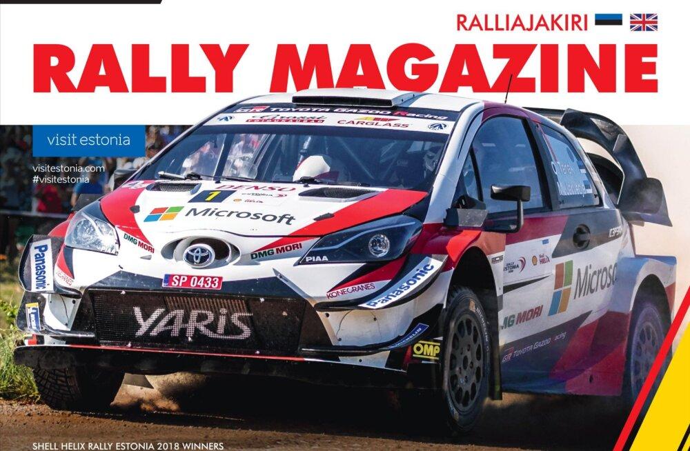 Midagi uut! Rally Estonia tuleb välja ainulaadse digitaalse ralliajakirjaga