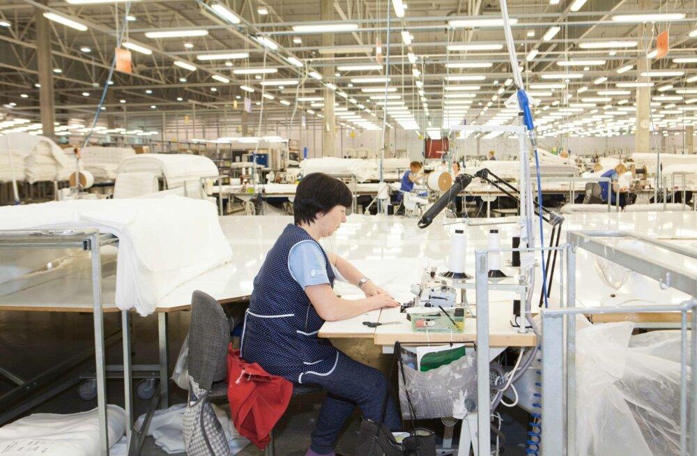 Hilding Anders Balticu tehase laienduse avamine