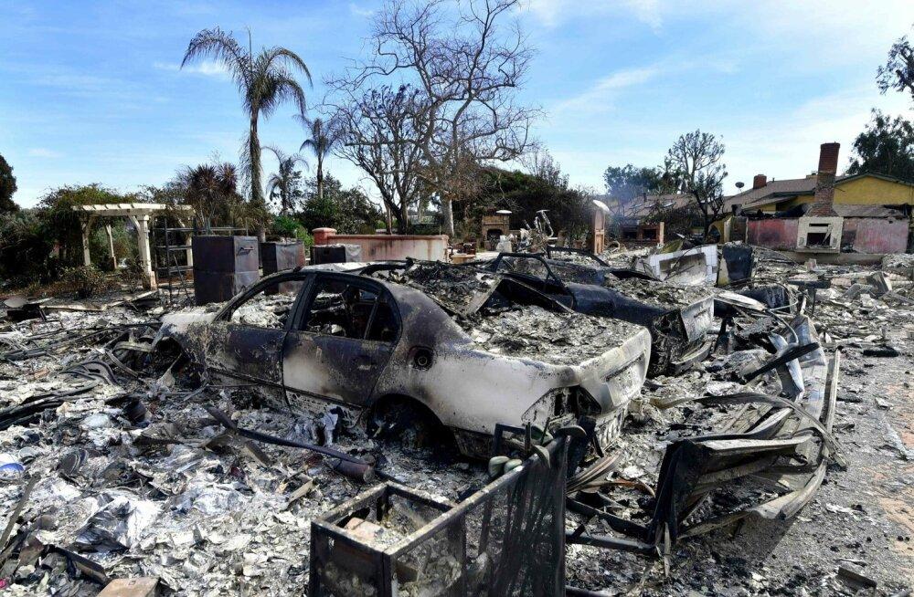 California ajaloo rängima tulekatastroofi ohvrite arv tõusis 48-ni