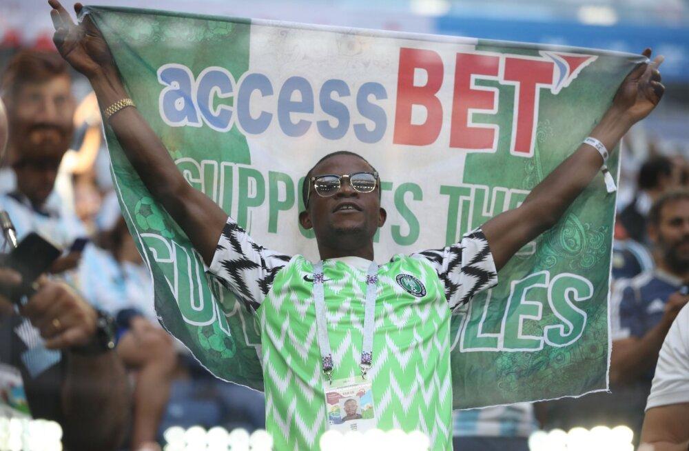 Nigeeria jalgpallifänn
