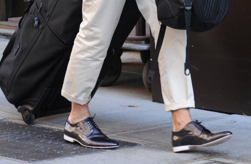 Rõve jalatõbi, millesse noored mehed uue kingatrendi tõttu aina enam haigestuvad