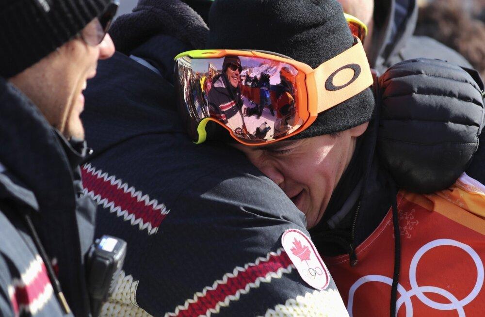 Mark McMorrise jaoks oli tegu vägagi emotsionaalse võistlusega