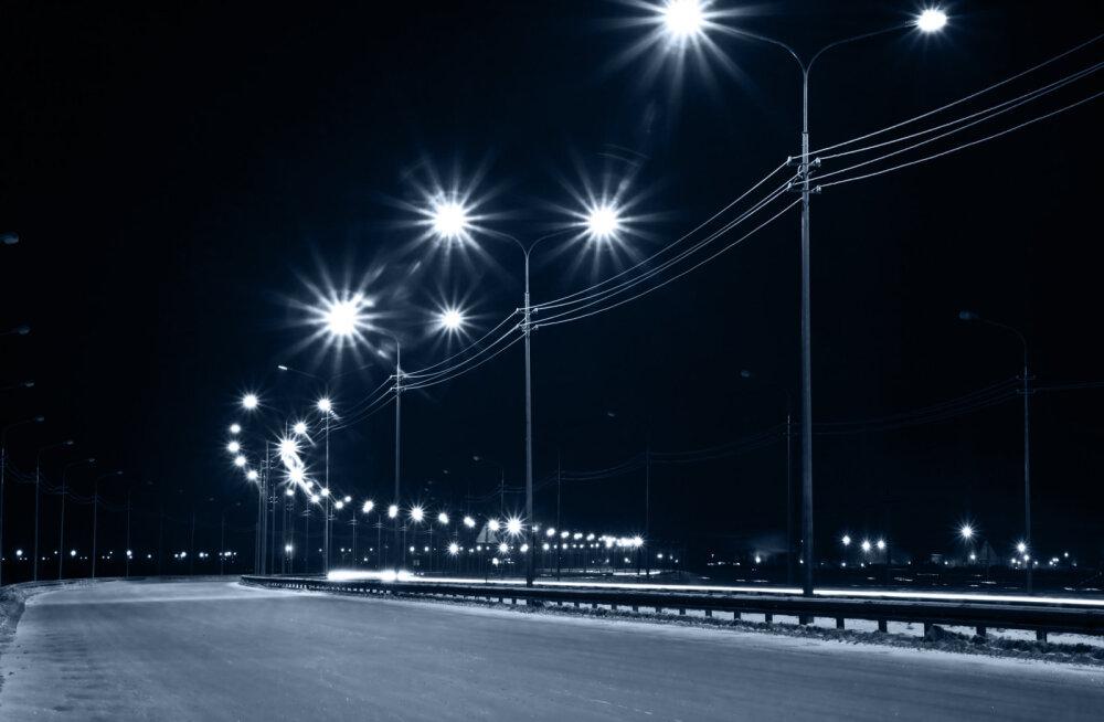 Uuring: uued LED-tänavavalgustid võivad kahekordistada vähiriski