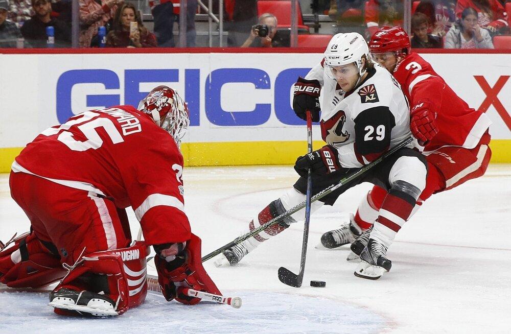 NHL-i vastasseis Red Wings - Coyotes