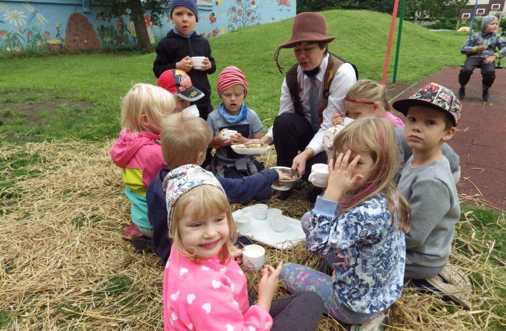 """Eelmises aktsiooni """"100 teraviljapeenart"""" osales ka Tallinna Lepatriinu lasteaed."""