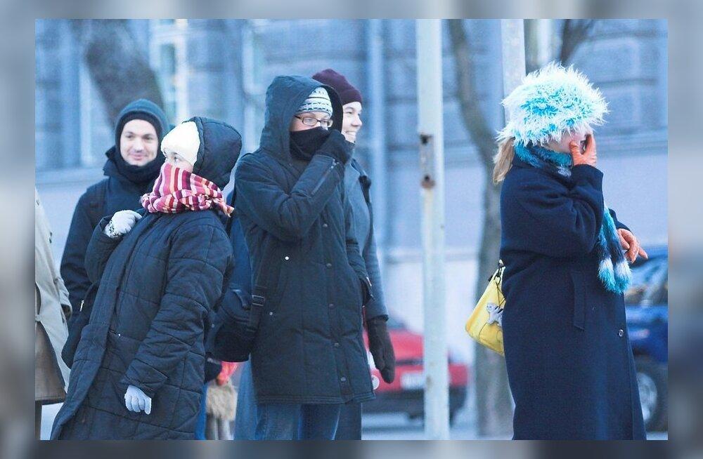 USA ilmaennustajad lubavad Eestile krõbekülma veebruari